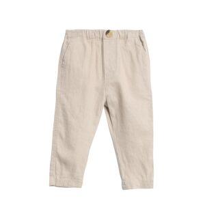 Wheat bukse i lin til baby, sand