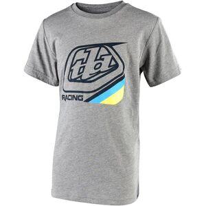 Troy Lee Designs Precision 2.0 Youth t-skjorte Grå L
