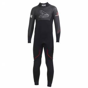 Helly Hansen Barn Junior Svartline Full Suit Svart 128/8
