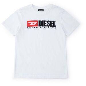 Diesel Tjustdivision T-Shirt, Bianco 8 År