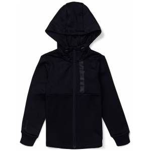 Hyperfied Scuba Zipped Hoodie, Anthracite 122-128