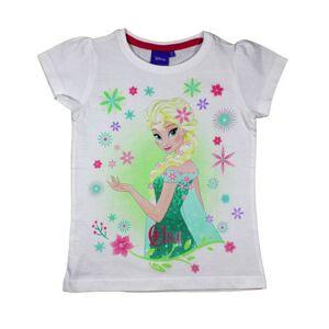 Hvit Frozen Elsa T-skjorte til Jente
