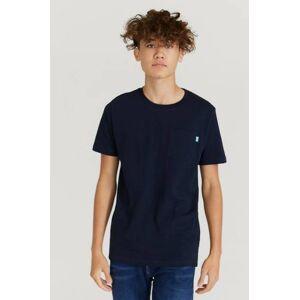 Scotch & Soda T-Shirt Chest Pocket T-Shirt Blå  Male Blå