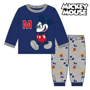 Mickey Mouse Pyjamas Barn Mickey Mouse Marinblå - 24 månader