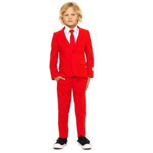 Vegaoo Mr. Röd kostym för barn från Opposuits 110 - 116 cm (6 - 8 år)