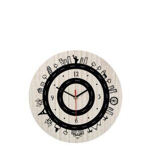 Bloomingville Clock Home Kids Decor Beige Bloomingville