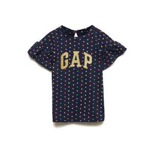 GAP Ss Logo Dress Klänning Blå GAP