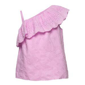 GAP Kids Eyelet Ruffle Top Blus Tunika Rosa GAP