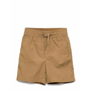 GAP Toddler Poplin Pull-On Shorts Shorts Creme GAP