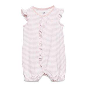 GAP Baby Ruffle Brannan Bear Shorty -Piece Bodysuits Short-sleeved Rosa GAP