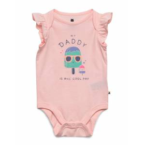 GAP Baby Mix And Match Family Bodysuit Bodies Short-sleeved Rosa GAP