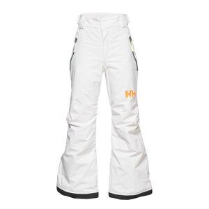 Helly Hansen Jr Legendary Pant Outerwear Snow/ski Clothing Snow/ski Pants Vit Helly Hansen