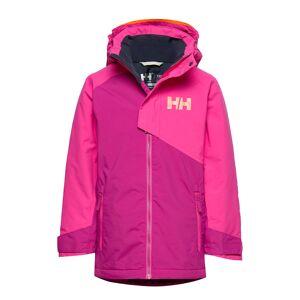 Helly Hansen Jr Cascade Jacket Outerwear Snow/ski Clothing Snow/ski Jacket Rosa Helly Hansen
