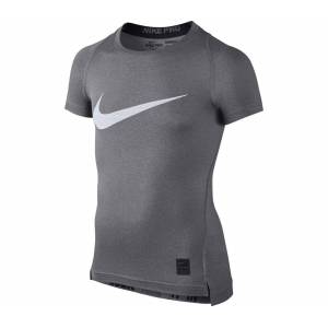 Nike Cool HBR Compression Shortsleeve children's running top Barn 128-137 (S)