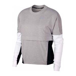 Nike - Dri-FIT Therma Sphere Dam Lauflongsleeve (grå/svart) - XS