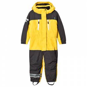 Lindberg Vail Overall Gul 120 cm (7-8 Years)
