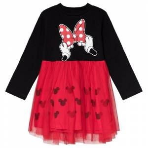 Disney Minnie Mouse Klänning Svart 18 mån