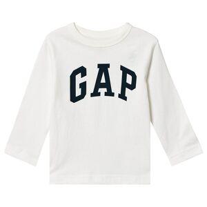 Gap Logo Långärmad Tröja Naturvit 18-24 mån