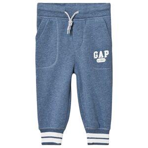 Gap Logo Mjukisbyxor Blue Heather 5 år