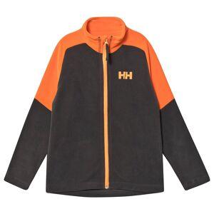 Helly Hansen Daybreaker Fleecetröja Svart/Orange 14 years
