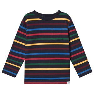 Gap Randig Långärmad T-Shirt Flerfärg 4 år