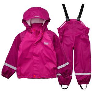 Helly Hansen Kids Bergen PU Rainset Rosa