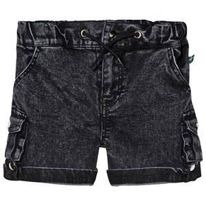The BRAND Armyshorts Stone Wash Distressed Grey 128/134 cm