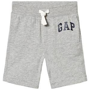 GAP Logo Shorts Light Heather Grey 18-24 mån
