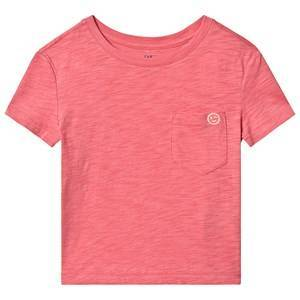 GAP Embroidered T-Shirt Lipstick Red M (8-9 år)
