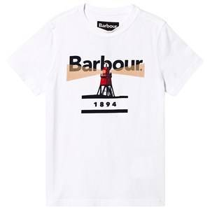 Barbour Barbour Logo Lighthouse T-shirt Vit XXL (14-15 years)
