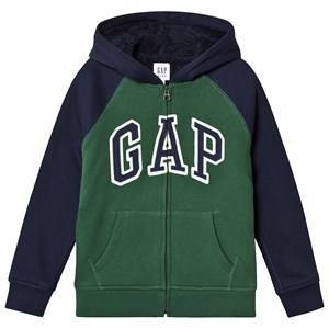 GAP Cozy Logo Hoodie Green Gables XL (12-13 år)