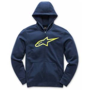 Alpinestars Ageless Fleece Barn Huvtröja Blå Gul M