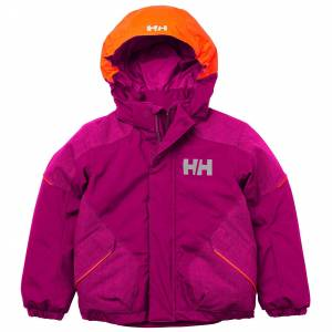 Helly Hansen K Snowfall 2 Jacket 86/1 Pink