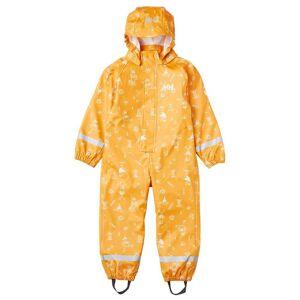 Helly Hansen Kid's Bergen Pu Waterproof Rain Playsuit   122/7 Yellow