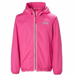 Helly Hansen Jr Helium Packable Jacket 140/10 Pink