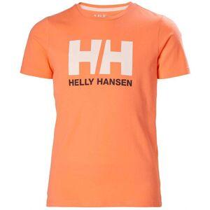 Helly Hansen Jr Hh Logo Tshirt 164/14 Orange