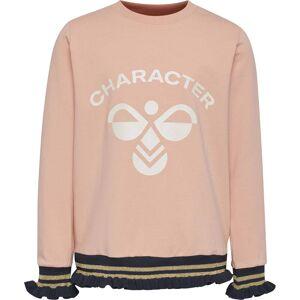 Hummel Bette Långärmad T-Shirt, Coral Pink, 134
