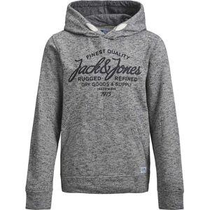 Jack & Jones Jack & Jones Panther Hoodie, Light Grey Melange 164