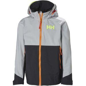Helly Hansen Ascent Regnjacka, Grey Fog 128