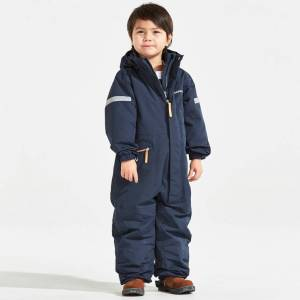 Didriksons Tysse navy kids coveral (Stl: 100, 110, )
