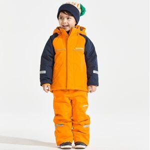 Didriksons Idre bright orange barnbyxa (Stl: 90, 100, 110, 120, 130, 140, )