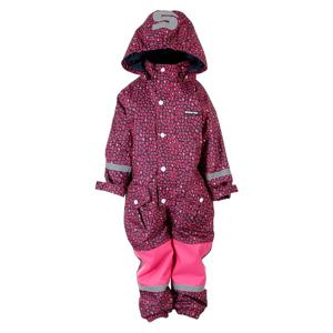 Vinteroverall Leopard   Barn/Baby86/92clRosa Rosa