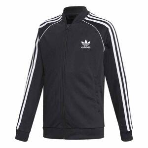 Adidas Superstar Tröja Full Zip Svart Junior