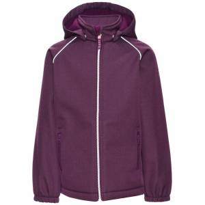 Name It Alfa Softshell Jacket Dark Purple Barn Name it