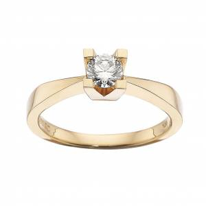 Scrouples Kleopatra Ring 0,35 ct. i 14 Karat Guld fra Scrouples