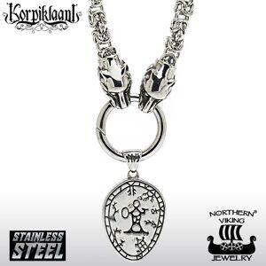 Viking Northern Viking Jewelry Kuningasketju + Korpiklaani Noitarumpu riipus NVJRS068_60cm