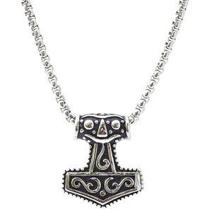 Viking Northern Viking Jewelry Mjölnir Thor´s Hammer - kaulakoru (50cm) NVJRS009