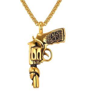 eStore Halssmykke, pistol med bundet rør
