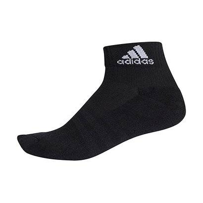 Meia Adidas Ankle Cushion 3S Cano Mdio - Unissex