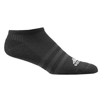Meia Adidas Cushion 3S Invisvel - Unissex